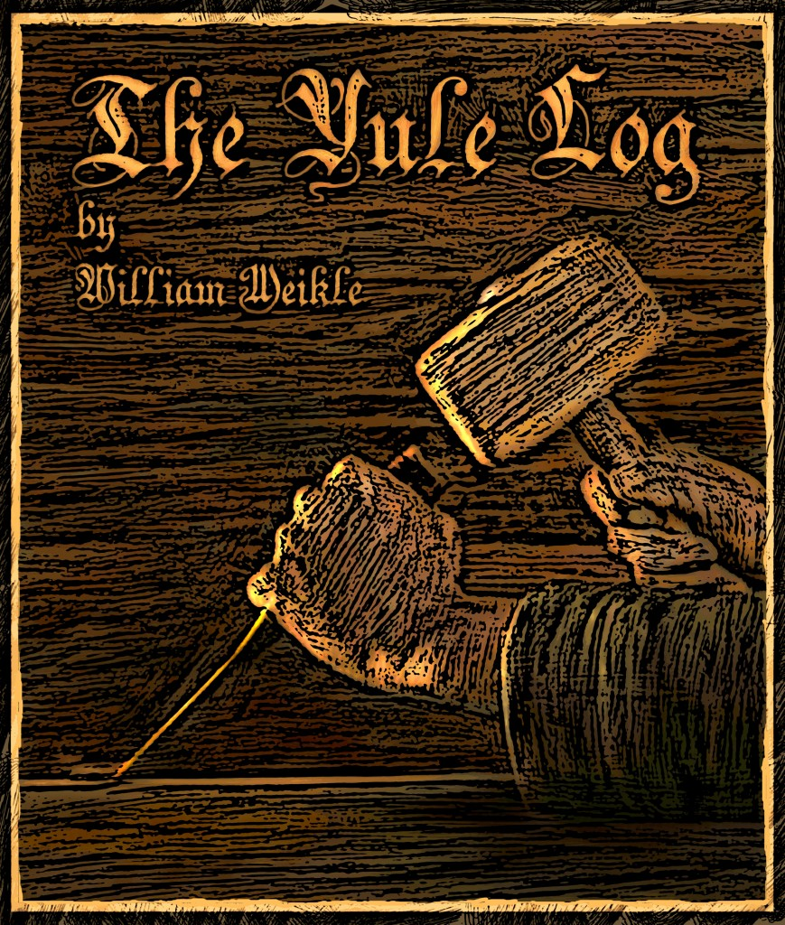 The Yule Log illustration