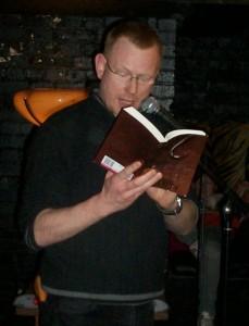 Joseph D'Lacey reading
