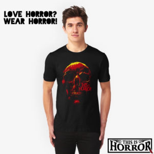 this is horror merch redbubble